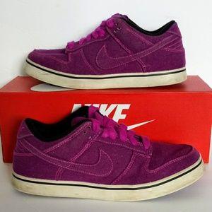 Nike 6.0 Skateboard Canvas Shoes Women's Purple